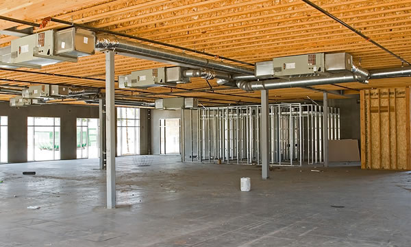 Commercial Tenant Build Outs in Central Wisconsin.  Commercial Remodeling Contractor