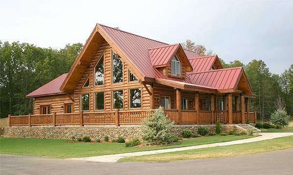 Timber Frame Homes: a frame builders